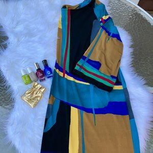 Dresses & Skirts - Multi Colored Lightweight Shabby Dress